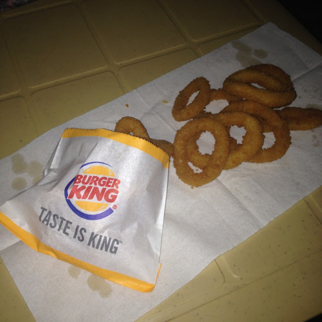 Onion rings from Burger King at Axis Entertainment Avenue