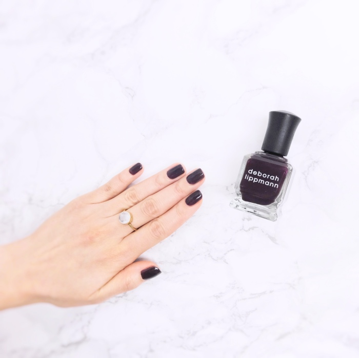 Deborah Lippmann Dark Side Of The Moon NOTD