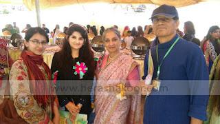 syeda hera shakoor art curator in judges panel with sheema kermani