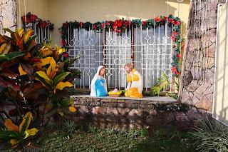 Nativity scene in Puriscal