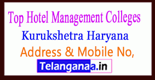 Top Hotel Management Colleges in Kurukshetra Haryana