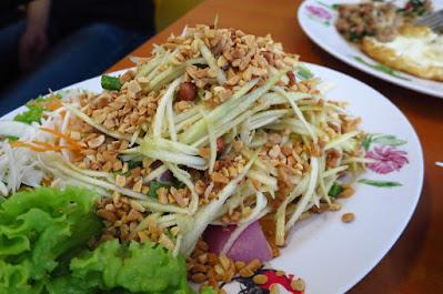 Thai Gold Food, mango salad