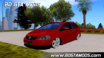 Download , Mod , Carro , VW SPACEFOX REBAIXADO para GTA San Andreas, Jogo ,GTA SA