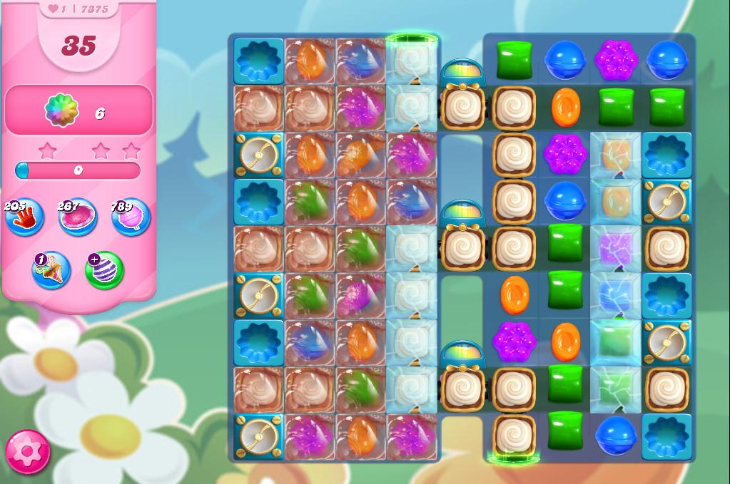 Candy Crush Saga level 7375