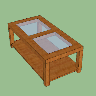 Cara Membuat Meja Tamu