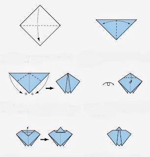 Elişi Kağıttan Uğurböceği Yapımı Resimli Anlatım