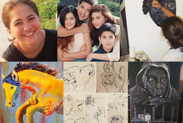 Atasha Muhlach Makes Aga And Charlene Proud With Her Artistic Skills! LOOK!