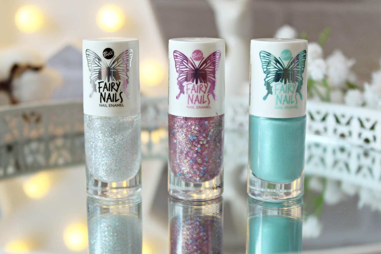LAKIER DO PAZNOKCI FAIRY NAILS Bell Fairy Tale