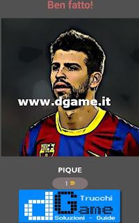 Soluzioni Football Player - Guess Quiz livello 15