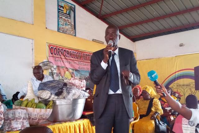 Monsieur Ansoumane Diané responsable du bureau.