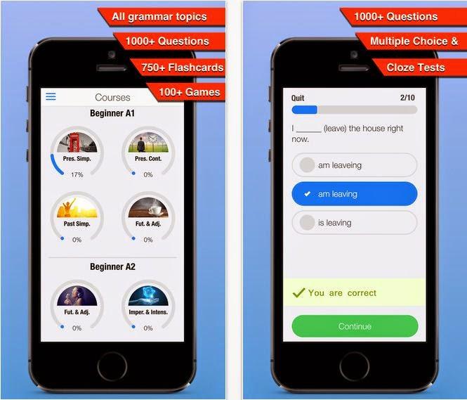practice english grammar 2 ipad app