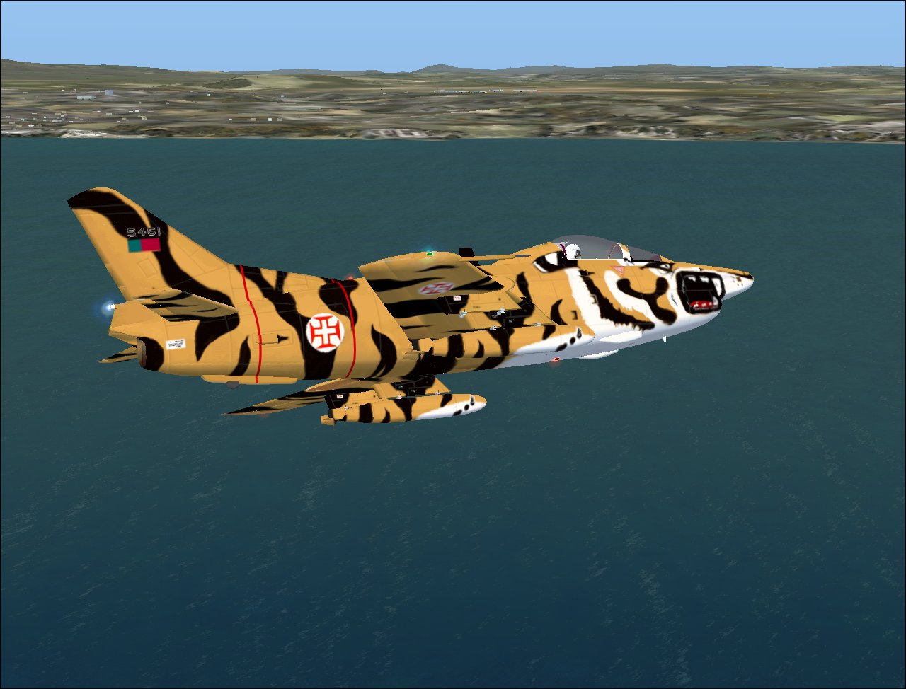 AirJorge Fotos: Flight Simulation - Fiat G-91