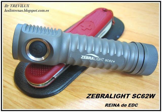 Zebralight SC62 luxlinternas.blogspot.com.es EDC Victorinox Solo