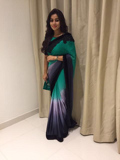 Actress Poorna Latest saree Photos