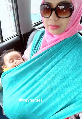 review babywrap mere et moi