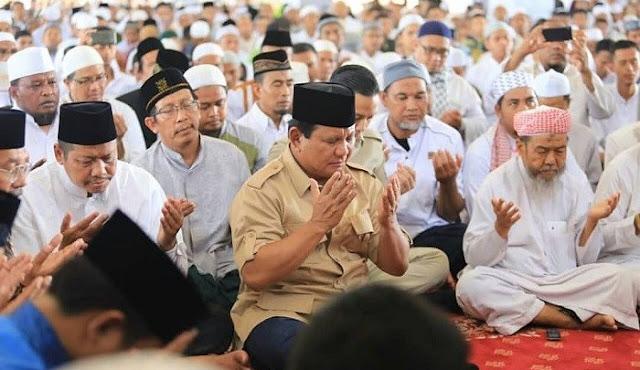 Sampaikan Belasungkawa, Prabowo Doakan Korban Pembantaian Masjid New Zealand Syahid