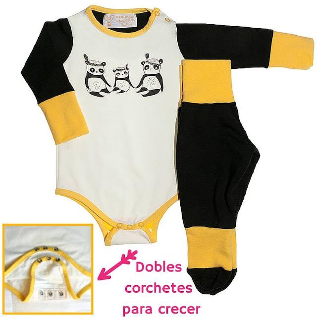 Bee Bee Babies, ropa adaptable al crecimiento de tu hijo