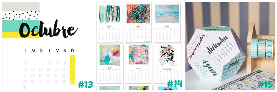 calendarios imprimibles gratuitos 2016