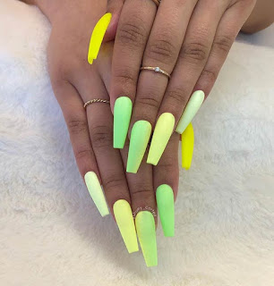 34 Pretty Neon Green Manicure to Inspire Your Summer Nails