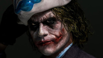 Joker, Heath Ledger, Art, 4K, #6.1980
