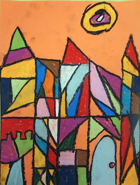 Talking Walls Paul Klee Cubism Castles