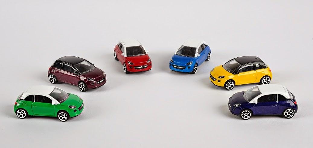 opel karl kommt ab sommer 2015 neue adam modellautos bei. Black Bedroom Furniture Sets. Home Design Ideas
