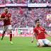 Gols de Lewa e show de Robben: líder Bayern atropela o Borussia Dortmund