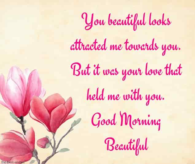 romantic good morning sms for girlfriend pictures
