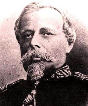 Imagen de Francisco Bolognesi con bigote y barba