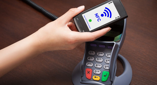 Pagamento utilizando NFC Near Field Communication
