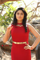 Telugu Actress Zahida Sam Latest Pos in Red Gown at RF Films New Movie Opening  0160.JPG