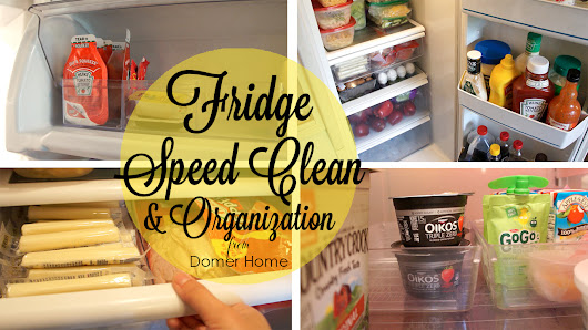 FRIDGE SPEED CLEAN & ORGANIZATION