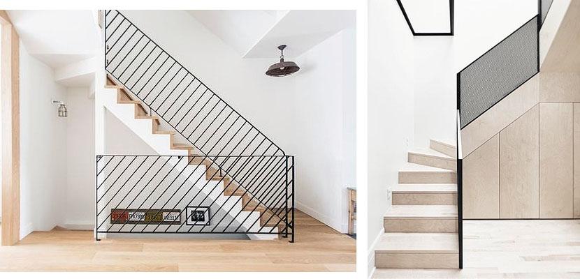 Marzua barandillas met licas para vestir su escalera - Barandillas de escaleras ...