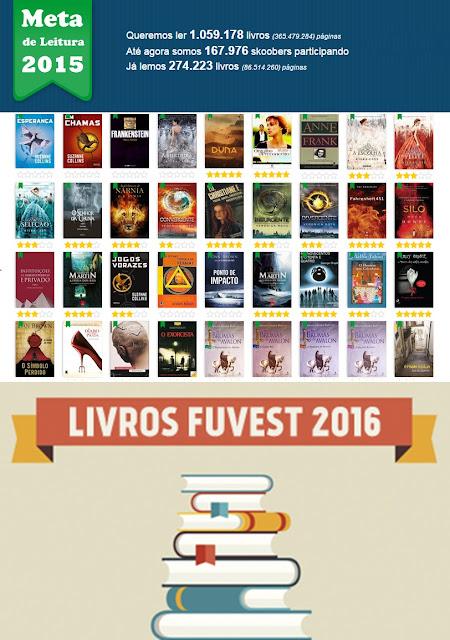livros fuvest 2016