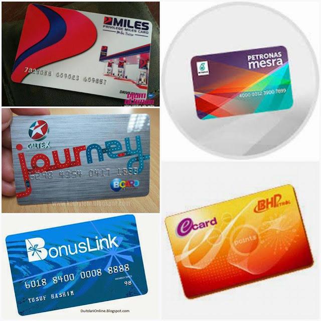 Perbandingan Dan Kelebihan bagi Kad Kesetian (Loyalty Card) Daripada Setiap Syarikat Petrol