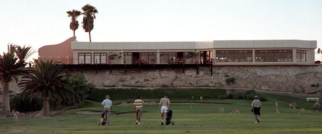 Rӧssmund Golf Course Swakopmund Namibia