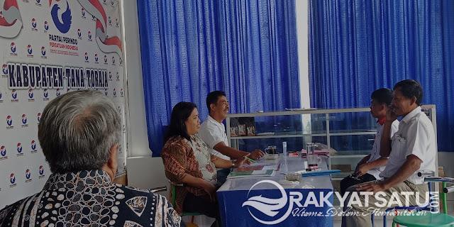 Demi Partai Perindo, Dua Saudara Kandung ini Siap Bertarung Rebutkan Kursi di DPRD Tana Toraja