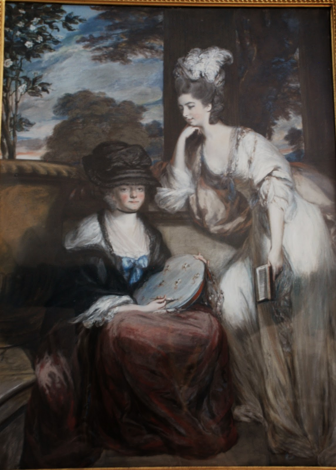 Formerly Sarah Anne Child and her mother Mrs Robert Child