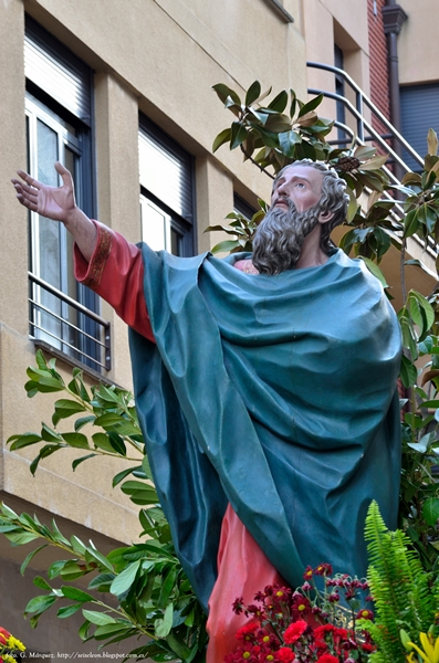San Pedro. Cofradía Cristo del Gran Poder. Foto G. Marquez. León