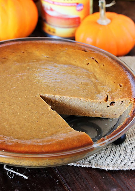 Impossible Pumpkin Pie Photo