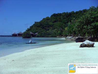 foto villa di pulau pahawang kecil