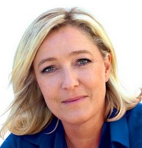 Brexit - Le billet de Marine Le Pen : Leur aigreur, mon optimisme !  dans Europe marine%2Ble%2Bpen%2Bfon%2Bblanc