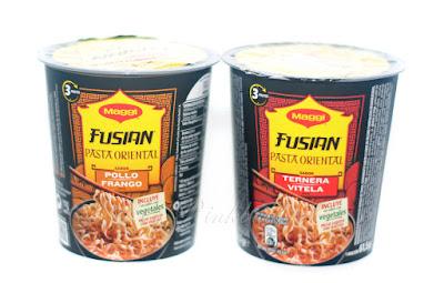 Maggi Fusian pasta oriental