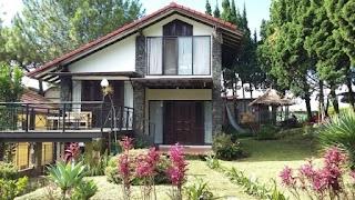 Info sewa penginapan villa di lembang 1 sampai 11 kamar