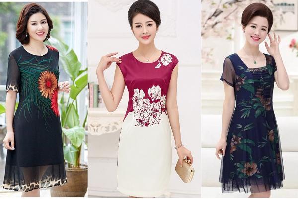 Cách chọn váy đầm đẹp cho tuổi trung niên thêm tươi trẻ