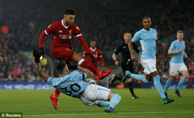 Video Liverpool - Man City: Đại tiệc 7 bàn siêu mãn nhãn