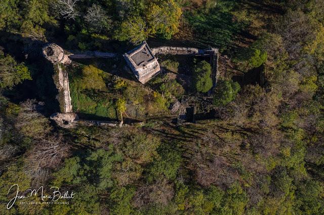Château du Landsberg — Vue d'apex