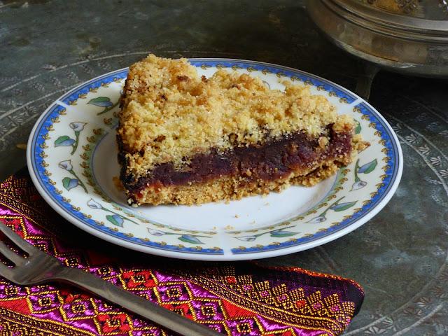 Dattel Kuchen Ägypten Rezept Ramadan Streusel