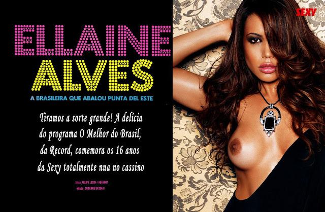 Ellaine Alves nua