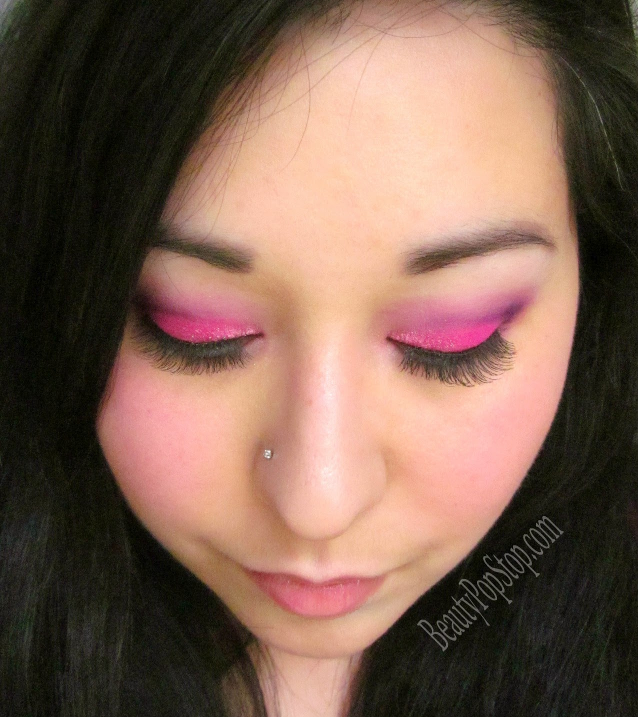 mean girls 10th anniversary so fetch pink makeup look tutorial